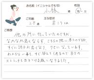 小林さん 28歳 男性
