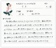 Y.Kさん 35歳 女性